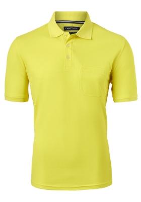 Casa Moda Comfort Fit poloshirt, geel