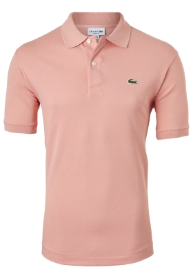 Lacoste Classic Fit polo, Elfje roze, Elfe