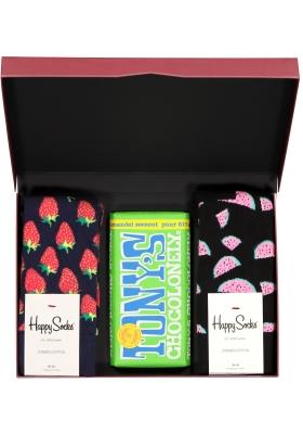Happy Chocolade cadeauset; Fruitige amandelen