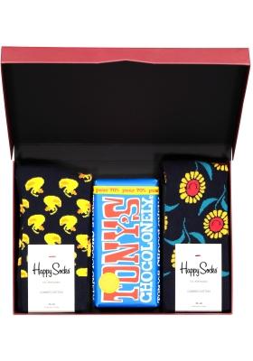 Happy Chocolade cadeauset; Zonnig Puur