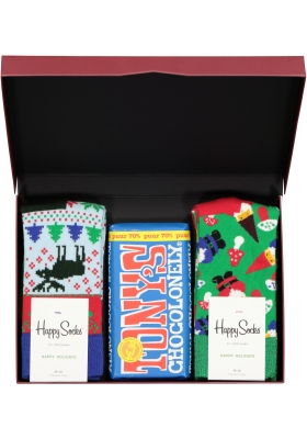 Happy Chocolade cadeauset; Pure Christmas