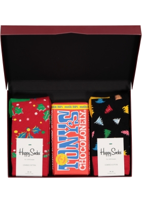 Happy Chocolade cadeauset; Milk and Holly