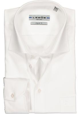 Ledûb Regular Fit overhemd, wit
