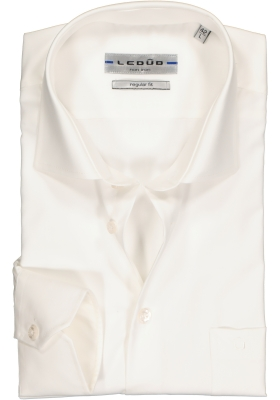 Ledûb Regular Fit overhemd, beige