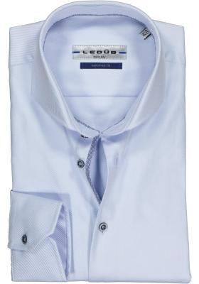 Ledûb Tailored Fit overhemd, blauw (contrast)