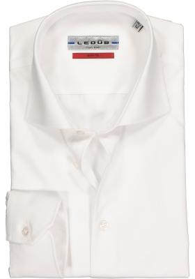 Ledûb Slim Fit overhemd, wit