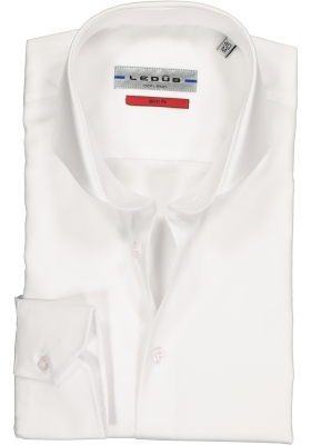 Ledûb Slim Fit overhemd, wit