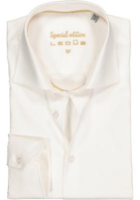 Ledûb Slim Fit overhemd, beige