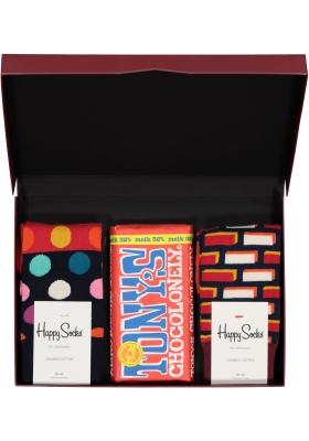 Happy Chocolade cadeauset; Lekker rood