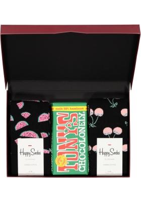 Happy Chocolade cadeauset; Gezond met hazelnoot