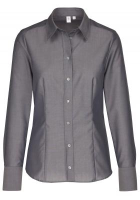 Seidensticker dames blouse regular fit, grijs