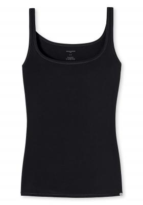 SCHIESSER 95/5 dames hemdje (1-pack), zwart
