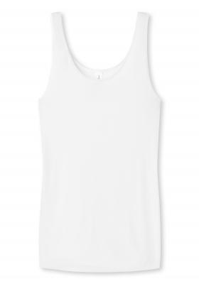 SCHIESSER Luxury dames hemdje (1-pack), wit