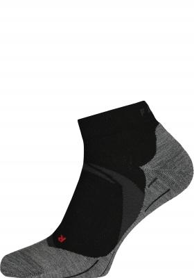 FALKE RU4 Cool Short dames hardloopsokken, zwart (black-mix)
