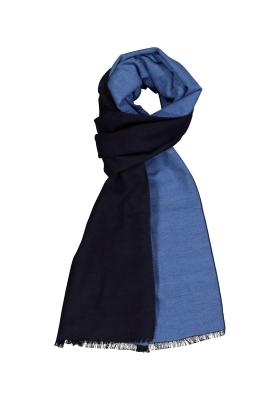 ETERNA herensjaal zijde, blauw