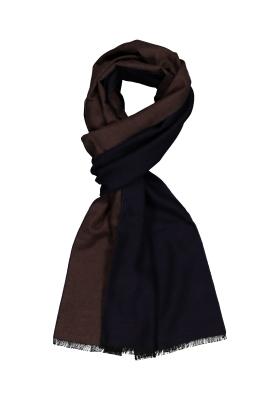 ETERNA herensjaal zijde, bruin
