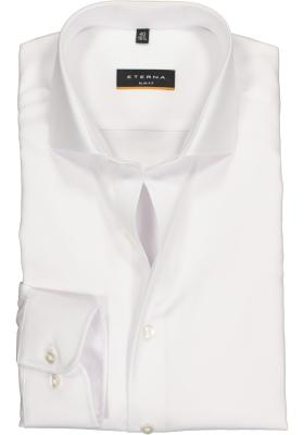ETERNA Slim Fit overhemd, wit twill