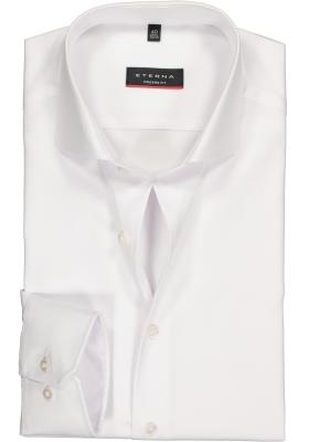 ETERNA Modern Fit overhemd, wit twill