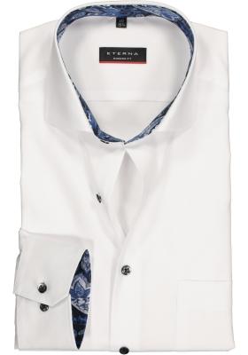 ETERNA Modern Fit overhemd, wit (contrast)