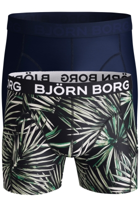 Bjorn Borg Microfiber boxers, 2-pack uni en print
