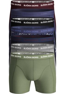 Bjorn Borg Cotton boxers, 7-pack print en uni