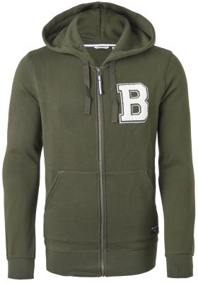 Bjorn Borg hoodie jacket sweatvest (dik), groen