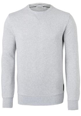 Bjorn Borg crew neck sweater sweatshirt (dik), lichtgrijs melange
