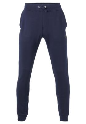 Bjorn Borg tapered pant, heren joggingbroek dik, blauw