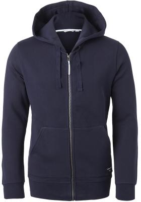 Bjorn Borg hoodie jacket, heren sweatvest dik, blauw