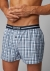 HUGO BOSS boxershorts woven (2-pack), heren boxers wijd model, navy blauw en geruit