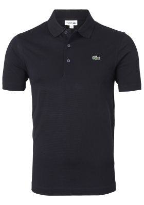 Lacoste Sport polo Regular Fit stretch, zwart