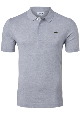 Lacoste Sport polo Regular Fit stretch, zilvergrijs melange