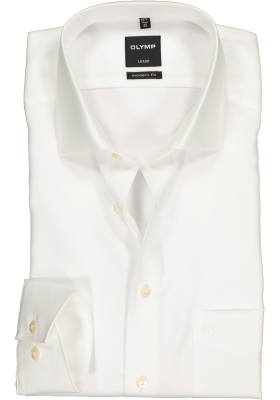 OLYMP Luxor modern fit overhemd, beige twill