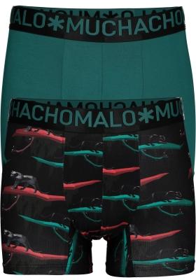 Muchachomalo boxershorts 2-pack, Black panther