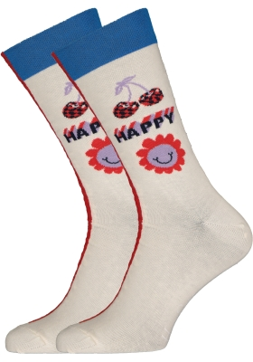Happy Socks Half/half Allover Dots Sock