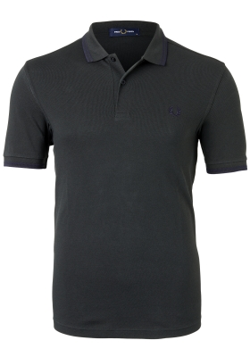 Fred Perry M3600 polo twin tipped shirt, Brit racing green