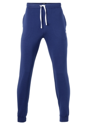 Hugo Boss heren lounge broek (middeldik), blauw