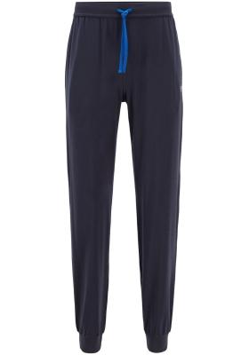 Hugo Boss heren lounge broek (middeldik), donkerblauw