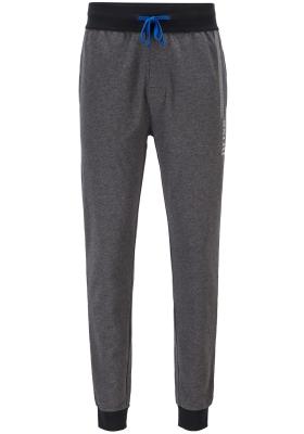 Hugo Boss heren lounge broek (middeldik), donker grijs