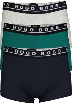 Hugo Boss trunk (3-pack), blauw, grijs en groen