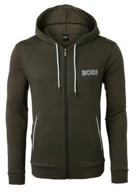 Hugo Boss heren lounge vest (dik), donkergroen