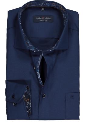 Casa Moda Comfort Fit overhemd, blauw (contrast)