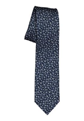 Michaelis  stropdas, blauw dessin