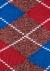 Burlington Argyle Heren Huissokken, rood geruit