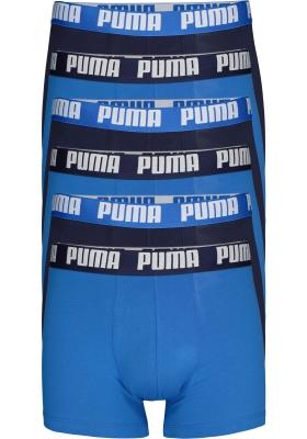 Puma Basic Boxer heren (2-pack), licht- en donkerblauw