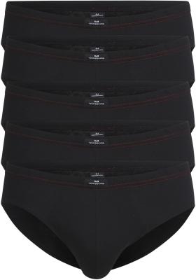 Gotzburg heren slips (5-pack), zwart