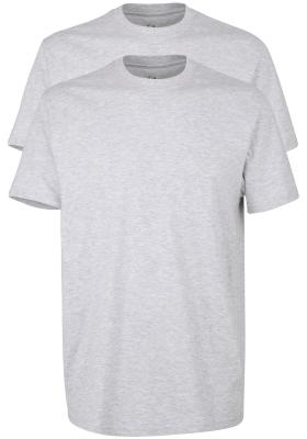 Gotzburg heren T-shirts Regular Fit O-hals (2-pack), grijs