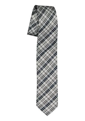 Pelucio stropdas, grijs geruit