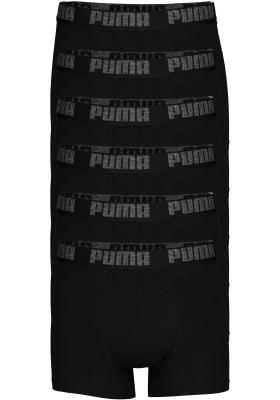 Puma Basic Boxer heren (6-pack), zwart