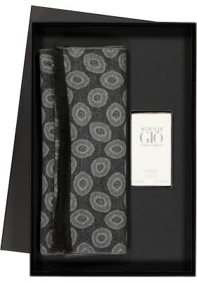 Heren cadeaubox: Armani Acqua di gio parfum + Sjaal